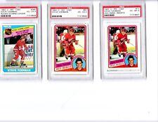 STEVE YZERMAN ALL (3) THREE O-PEE-CHEE  PSA CARDS (1) ONE PRICE