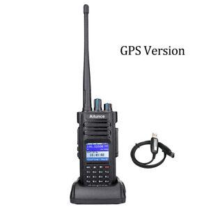 Ham Radios Ailunce HD1 Walkie Talkie UHF+VHF Digital/Analog 3000CH IP67 10W GPS