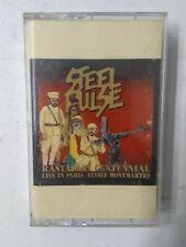 Steel Pulse-Rastafari Centennial Live In Paris Cassette Tape