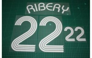 Flocage RIBERY France  - maillot  Patch Football