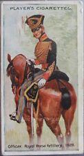 No.17 ROYAL ARTILLERY 1828 Regimental Uniforms BLUE BACK Player 1912