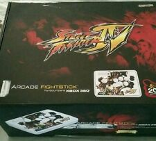 Street Fighter IV xbox 360 arcade fight stick Madcatz Collectors Edition