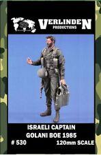 Verlinden 120mm Israell Captain Golani Boe 1985 Resin Figure Model Kit #530