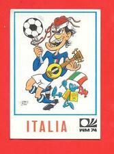 PANINI MONACO 1974.ADESIVO/STICKER NO RECUPERO .OTTIMO N.285 ITALIA