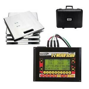 Intercomp Race / Rally / Motorsport E-Z Weigh Computer Scales - Corner Weights