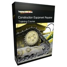 Construction Repairer Hydraulic Training Book Course CD