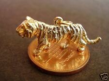 BEAUTIFUL 9CT 9K GOLD '  TIGER '  CHARM CHARMS