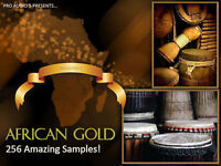 African Drums - Samples - Akai  MPC 1000 - 4000 - 2500 - 2000XL .WAV - DOWNLOAD