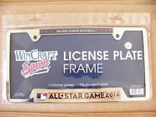 2014 AS All-Star metal license plate frame Minnesota Twins host at Target Field