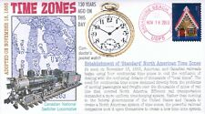 COVERSCAPE computer designed 130th anniversary of the 1st Time Zones event cover