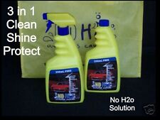 No H2o Waterless Car Wash, Shine, Protect - Twin Pack