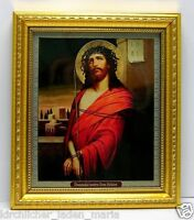 Ikone Jesus Christus geweiht икона Иисус Христос освящена  20,5x17,5x1,7 см