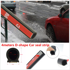 Big D 4M Rubber Seal Car Door Rubber Insulation Weather-strip Car Accessories