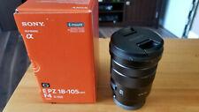 SONY 18-105mm E Mount G Series Power Zoom Lens