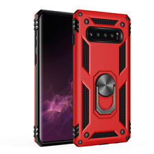 Military Armor Case for Samsung GalaxyS8 S9 S10plus Shockproof Ring Holder Cover