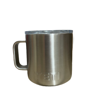YETI Rambler Stainless Steel Insulated Mug w/ Lid Large 14 oz. w/Cisco Logo