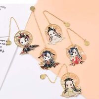 Anime Heaven Official's Blessing Bookmark Metal Hollowing Book Markers~
