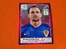 379 SCHILDENFELD EINTRACHT FRANKFURT HRVATSKA  FOOTBALL PANINI UEFA EURO 2012