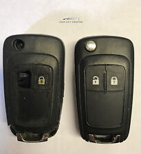 Repair For Vauxhall 3 Button Flip Remote Car Key fob Case Blade Astra Insignia