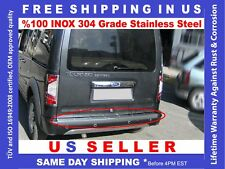 FORD TRANSIT CONNECT REAR BUMPER SILL COVER POLISHED STAINLESS STEEL 2010-2013