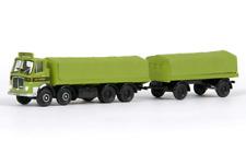 EFE 34404 AEC Mk.V Flatbed Lorry + Trailer Vic Hallam OO Gauge