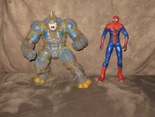 Rock Crusher Rhino & Spider-Man - Marvel Universe 4 Inch Action Figure