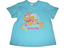 NEU Ergee süßes T-Shirt Gr. 86 hellblau mit Schmetterlings Motiv !!