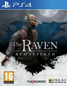 THE RAVEN REMASTERED Sony Playstation 4 Ps4 Game Brand New Sealed