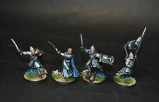 Warhammer lotr Middle Earth Gondor Commanders painted Minas Tirith