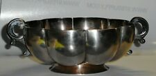 Sanborns Mexico Sterling Silver Lobed Bowl with Handles