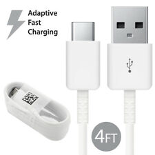 Original Samsung Galaxy S8 S9 Plus Note 8 Adaptive Fast Charger USB Type-C Cable