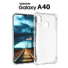 Funda Gel TPU Transparente Antigolpes para Samsung Galaxy A40