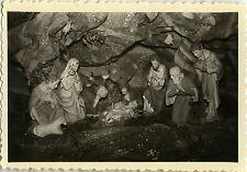 PHOTO ANCIENNE - VINTAGE SNAPSHOT - CURIOSITÉ RELIGION CRÈCHE NOËL - CHRISTMAS 2
