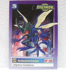 DIGIMON TRADING CARDS - KABUTERIMON 25/34 - CARTE UFFICIALI SERIE TV-1a SERIE