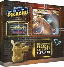 Pokemon Meisterdetektiv Pikachu Kollektion Fallakte Glurak GX Box -DEUTSCH- NEU