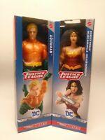 LOT of (2)True Moves AQUAMAN & WONDER WOMAN  Justice League