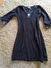 Scandic Kleid, Strickkleid Gr XS, blau neu