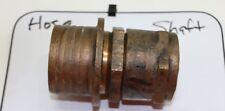 """1-3/4"""" Shaft / 3"""" Hose Bronze Propeller Prop Shaft Packing Stuffing Box Spud Nut"""