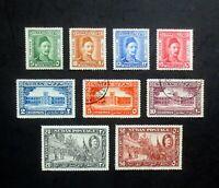 "1935 Sudan Stamp Set, 50th anniv., Death of Charles George (""Chinese"") Gordon"