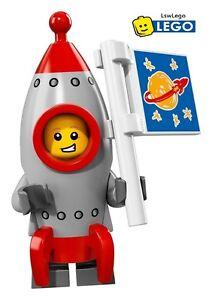 Lego Minifigures 71018 Series 17 - #13 ROCKET BOY Sealed Minifigures