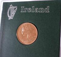 1959 Republic of Ireland Eire Irish Farthing Coin (BU) Gift Set in Display Case