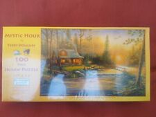 """100 Piece Terry Doughty Art Puzzle """"Mystic Hour""""  New 10"""" x 16"""""""