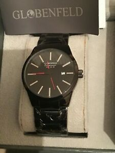 New Boxed Globenfeld Slim Line Entrepreneur Mens Watch