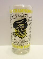 Pittsburgh Pirates 1960 World Champions Team Autograph Glass Clemente More Rare