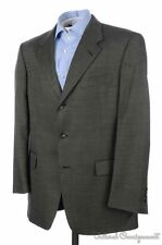 BURBERRY LONDON Solid Black Micro Dot 100% Wool Blazer Sport Coat Jacket - 40 R