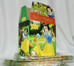 Princess Blanca Nieves Party Favor Treat Box *10Ct* Loot Goody Candy Box