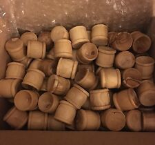 """Lot of 100 - Olivewood Communion Cups 1"""" tall - Made in Bethlehem Christian"""