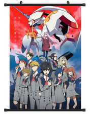 4769 Darling in the FranXX Decor Poster Wall Scroll cosplay