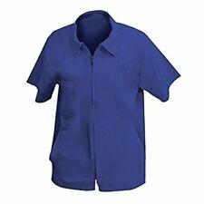 Shaving Factory Barber Stylist Cape Jacket, Ocean Blue, XXX-Large