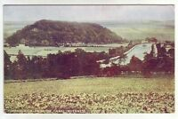 Tomnahurich Hill From Caledonian Canal Inverness Davidsons Ideal Series Old PC